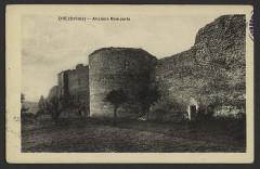 Remparts - English: Châteaux Die