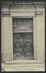 Temple protestant - English: Bâtiments religieux Die