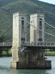Pont dit du Robinet sur le Rhône -       This file was uploaded  with Commonist.  Construit en 1845.