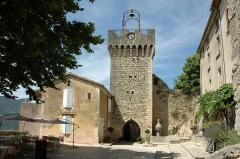 Beffroi - Français:   Beffroi de Montbrun-les-Bains