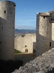 Château des Adhémar ou des Papes -  château des Adhémar à Montélimar (Drôme)