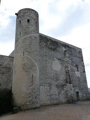 Château des Adhémar ou des Papes - Français:   Château des Adhémar. Logis seigneurial face nord et tour