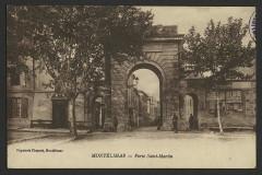 Porte Saint-Martin - English: Montélimar