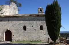 Eglise - Deutsch: Kapelle Saint-Félix in Montségur-sur-Lauzon