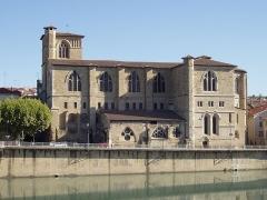 Eglise Saint-Barnard, ancienne collégiale -  La collégiale Saint-Barnard de Romans-sur-Isère (Drôme)