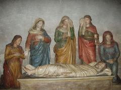 Eglise Saint-Barnard, ancienne collégiale -  Mise au tombeau du XVIIIe siècle (Collégiale Saint-Barnard, Romans-sur-Isère, Drôme)
