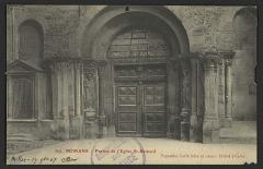 Eglise Saint-Barnard, ancienne collégiale - English: CA 1900