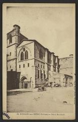 Eglise Saint-Barnard, ancienne collégiale - English: Bâtiments religieux Romans-sur-Isère