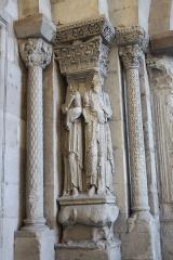 Eglise Saint-Barnard, ancienne collégiale - Deutsch: Collégiale Saint-Barnard in Romans-sur-Isère