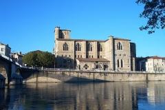 Eglise Saint-Barnard, ancienne collégiale - English: Collegiate church Saint Barnard, Romans-sur-Isère