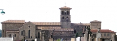 Eglise collégiale -  vue de la Collégiale de Saint Donat dans la Drôme