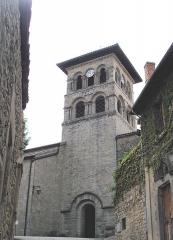 Palais Delphinal -  Collégiale Saint-Pierre-et-Saint-Paul à Saint Donat