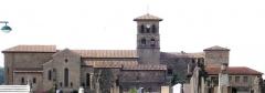 Palais Delphinal -  vue de la Collégiale de Saint Donat dans la Drôme