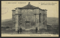 Chapelle funéraire (ruines) - English: CA 1900