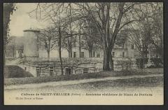 Château et ses jardins à la française - English: CA 1900