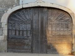Relais de poste aux chevaux -  Saulce-sur-Rhône (Drôme, France), ancien relais de poste.