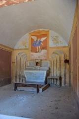 Chapelle funéraire des Seigneurs de la Baume -  Suze-la-Rousse (Drôme, France), chapelle funéraire des seigneurs de la Baume, 1510.
