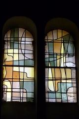 Eglise Saint-Jean - Deutsch: Bleiglasfenster in der Kirche Saint-Jean-Baptiste in Valence, Signatur:?