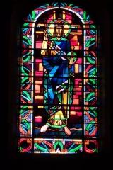 Eglise Saint-Jean - Deutsch: Bleiglasfenster in der Kirche Saint-Jean-Baptiste in Valence, Darstellung: hl.?, Signatur:?