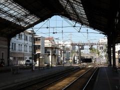 Gare - Nederlands:   De stationsoverkapping van Valence Ville