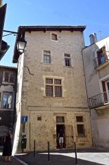 Maison Dupré-Latour - Français:   Maison Dupré-Latour, à Valence (Drôme, France), XVIe s. Façade arrière.