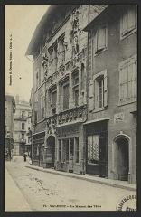 Maison des Têtes - English:   CA 1900 - 1905