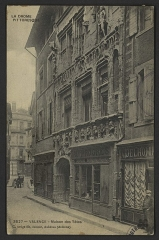 Maison des Têtes - English:   CA 1900 - 1908