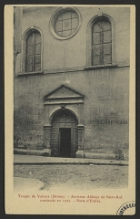 Ancienne abbaye de Saint-Ruf le Haut - English: CA 1910