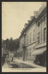 Hôtel du Puy-Montbrun - English: CA 1905