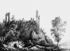 Château de Beauvoir (ruines) - French painter, illustrator, photographer and lithographer