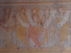 Eglise - Français:   Fresque des Prophètes de l\'église des Augustins de Crémieu