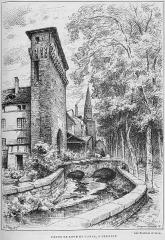 Porte de Ville dite Porte de Lyon - French engraver and painter