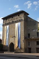 Porte de Ville dite Porte de Lyon - Deutsch:   Stadttor in Crémieu