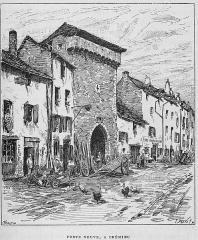 Porte de Ville dite Porte Neuve ou Porte François Ier - French engraver and painter