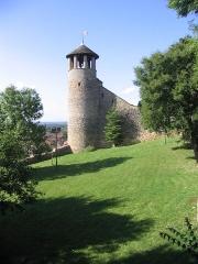 Tour de l'Horloge et tour carrée Saint-Hippolyte - English:   Tower of Crémieu, Isère, France