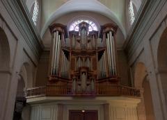 Eglise Saint-Louis - English: Great organ of the church Saint-Louis in Grenoble.