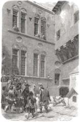 Hôtel dit de Croy-Chasnel et de Pierre Buchet - English: Courtyard of the