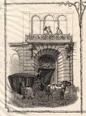 Hôtel dit de Croy-Chasnel et de Pierre Buchet - English: Front door of the