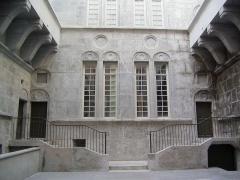 Hôtel dit de Croy-Chasnel et de Pierre Buchet - English: Courtyard of the Pierre Bucher hotel, Grenoble, France