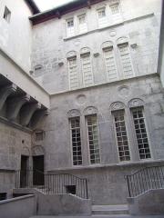 Hôtel dit de Croy-Chasnel et de Pierre Buchet - English: Façade of the Pierre Bucher hotel, Grenoble, France