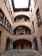 Maison Vaucanson - English: House known as Vaucanson's, 8 rue Chenoise, Grenoble, France