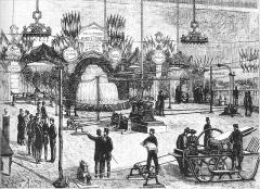 Monastère de Sainte-Marie-d'en-Haut - Expérience électrique de transport d'électricité de Vizille à Grenoble par Marcel Deprez en 1883.