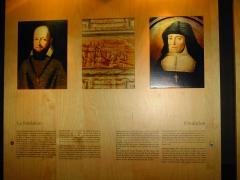 Monastère de Sainte-Marie-d'en-Haut -  St françois de Sales et Jeanne de Chantal, fondateurs du couvent Ste Marie d'en Haut en 1619. Le Musée Dauphinois s'y installa en 1968.
