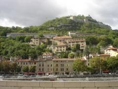 Monastère de Sainte-Marie-d'en-Haut -  Musée Dauphinois sur les flancs de la bastille à Grenoble (ancien couvent dont la construction débuta le 21 octobre 1619)