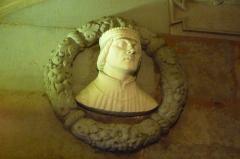 Palais de Justice - buste dauphin Humbert II - parlement du Dauphiné - Grenoble