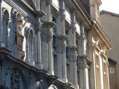 Palais de Justice - Ancien palais de justice, ancien palais du parlement du Dauphiné, Grenoble, France.