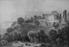 Château de Bayard (ruines) - French artist