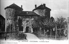Château de Bayard (ruines) -  Pontcharra, château Bayard.
