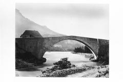 Vieux pont sur le Drac (également sur commune de Claix) -  Le Pont de Claix en 1873