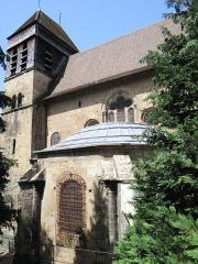 Eglise Saint-Theudère - Français:   Saint-Chef - Église Saint-Theudère - Chevet et clocher